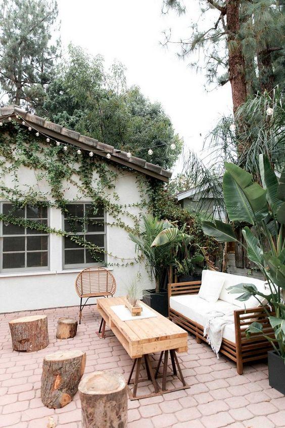 Rustic Backyard Ideas for Breathtaking Outdoor View ... on Rustic Backyard Ideas id=18797