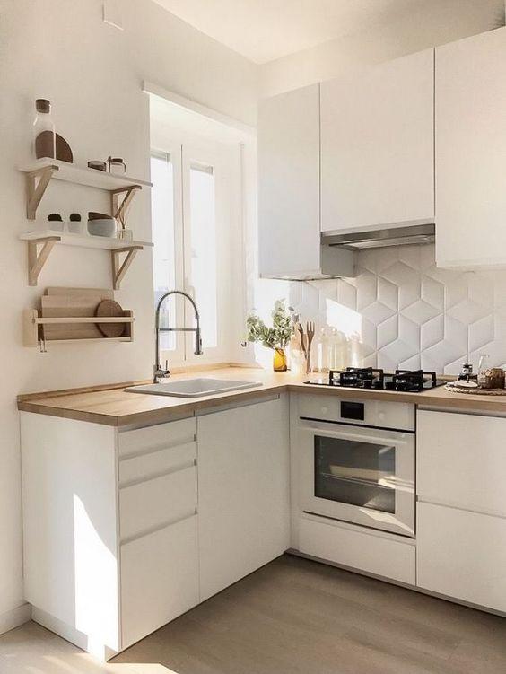 Small Kitchen Ideas: Simply Elegant Kitchen