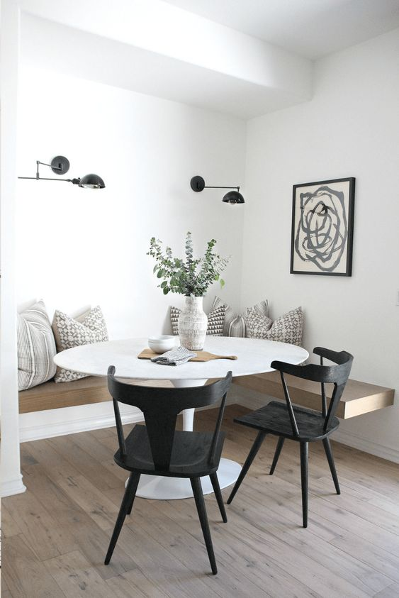 white dining room ideas 8