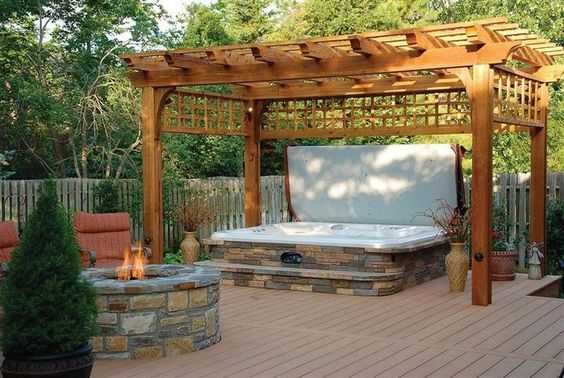 Hot Tub Patio Ideas for a Great Combination