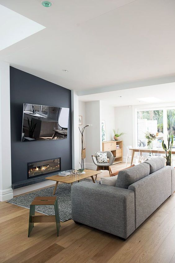 Simple Living Room with TV Ideas You Have to See ...