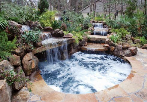 Attractive Natural Hot Tub Ideas You Might Like