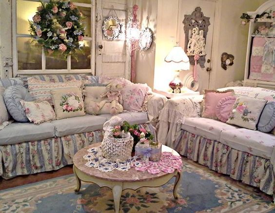 Adorable Shabby Chic Living Room Ideas to Steal