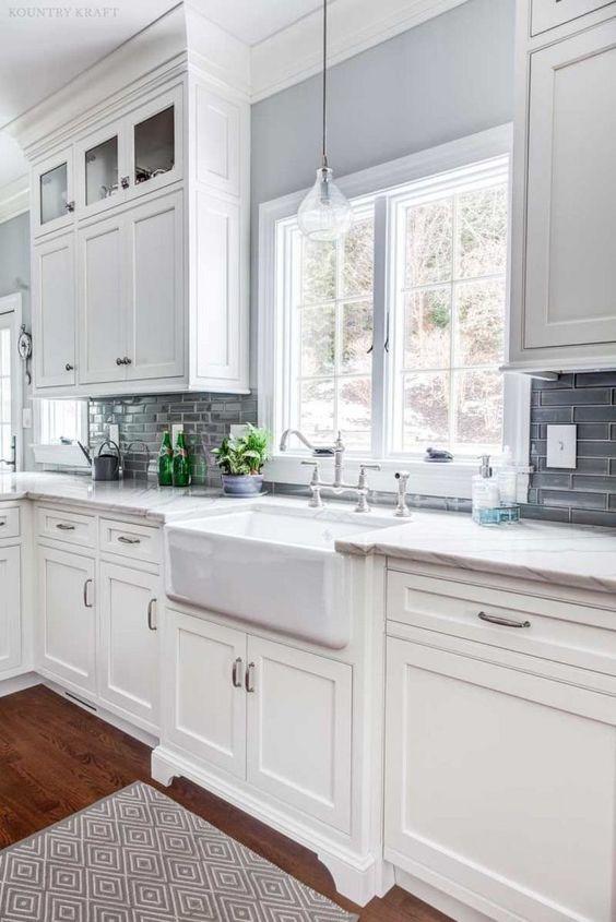 White Kitchen Ideas: Lovely White Kitchen