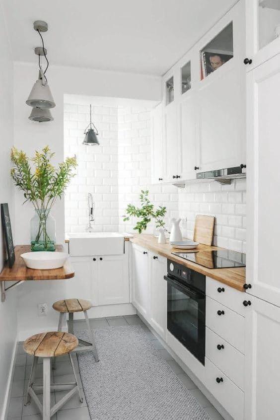 White Kitchen Ideas: Adorable White Kitchen