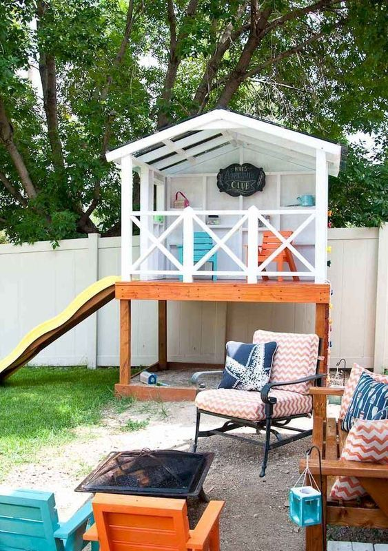 Backyard for Kids Ideas: Simple Playing Area