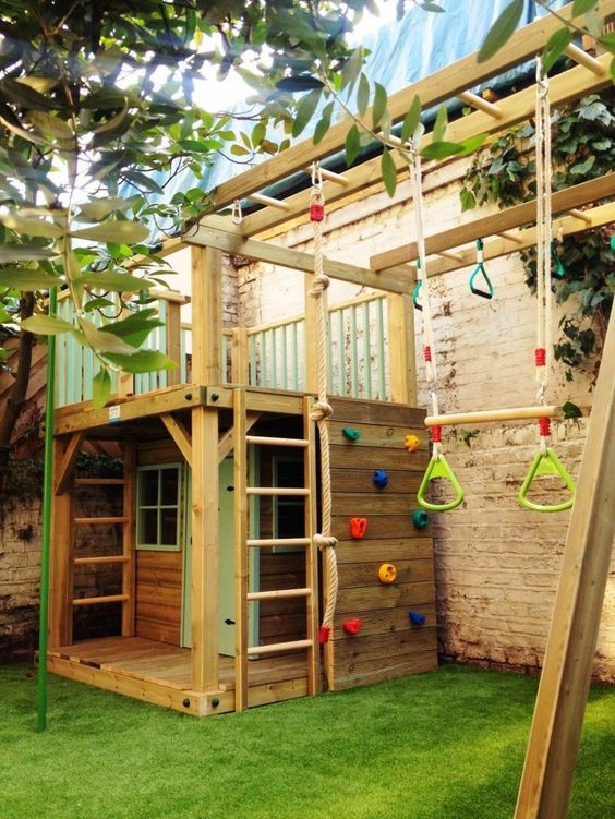 Backyard for Kids Ideas: Active Playing Area