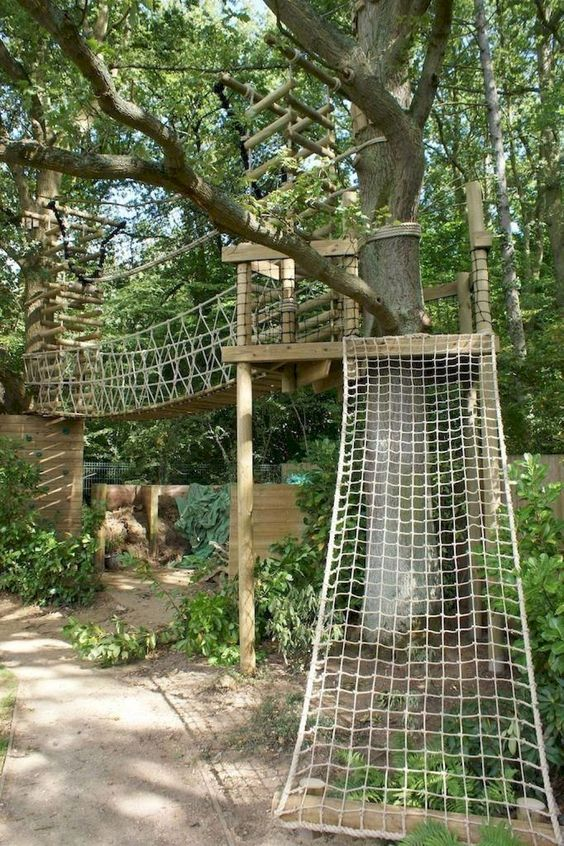 Backyard for Kids Ideas: Adventurous Playing Media