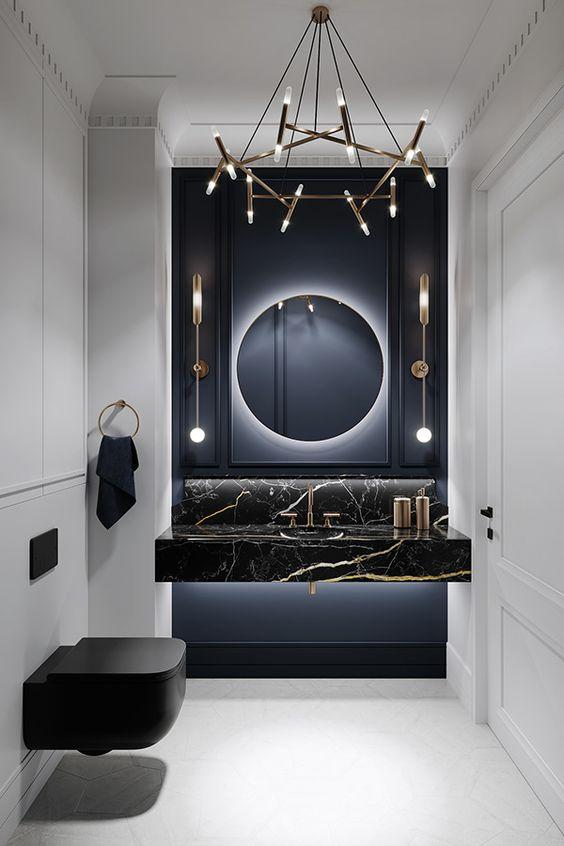 bathroom black ideas 11