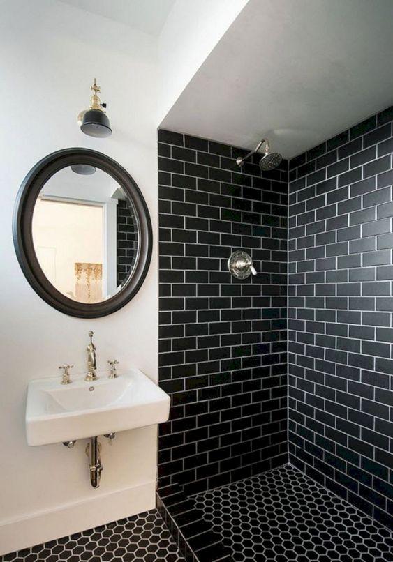 bathroom black ideas 12