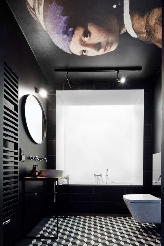 bathroom black ideas 19