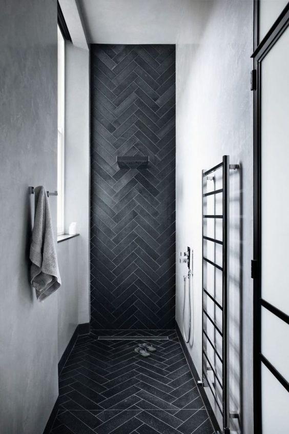 bathroom black ideas 5