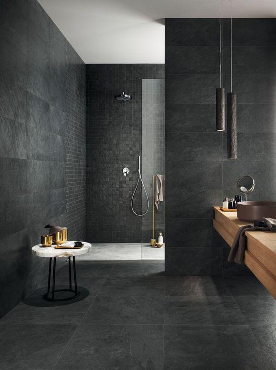 bathroom black ideas 7