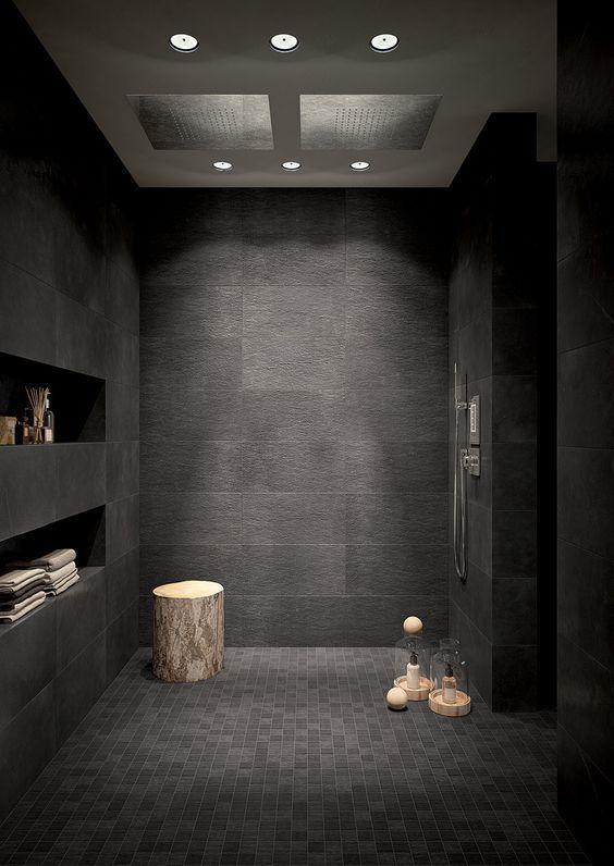 bathroom black ideas 8