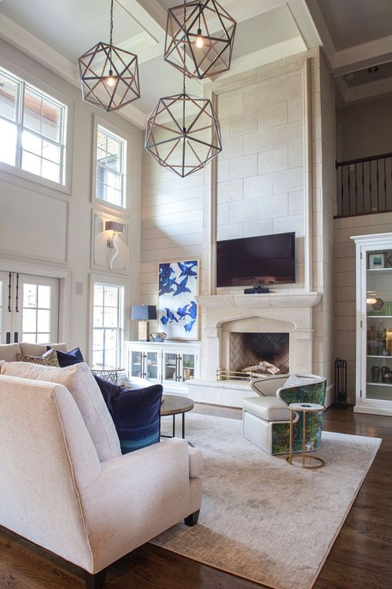 Spacious Big Living Room Ideas That You Want to Have ...