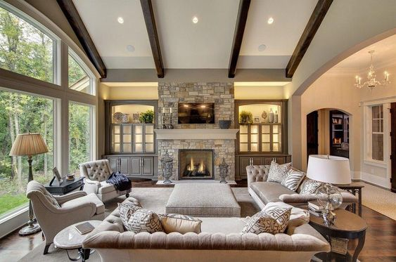Spacious Big Living Room Ideas That You Want to Have