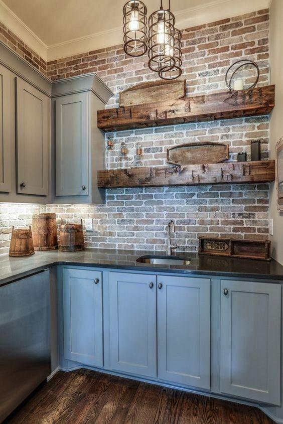 farmhouse kitchen ideas 16