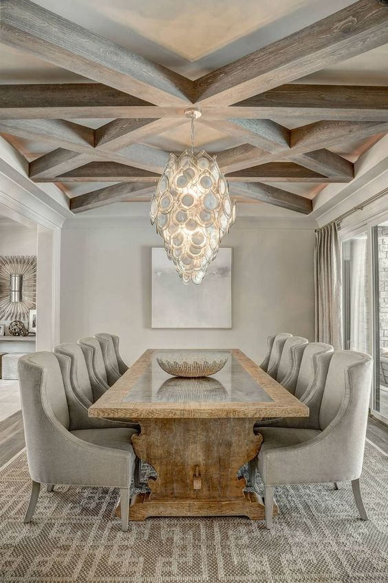 Formal Dining Room Ideas: Modern Rustic Room
