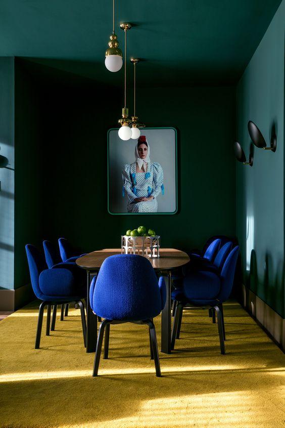 green dining room ideas 11