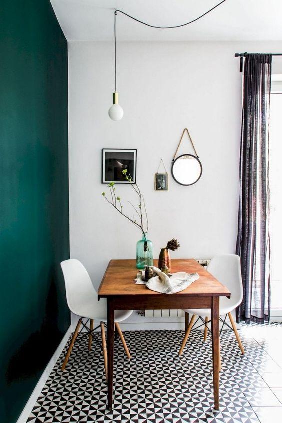 green dining room ideas 13