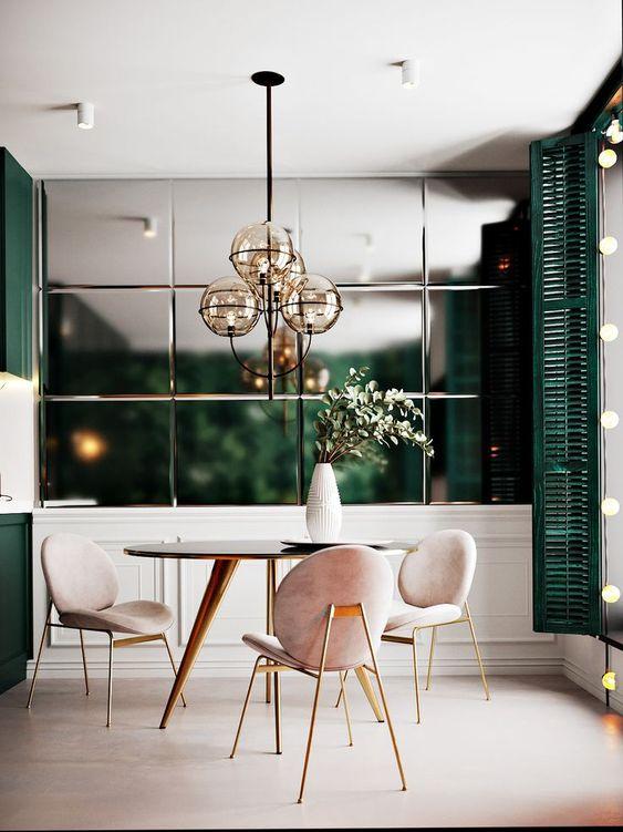 green dining room ideas 15