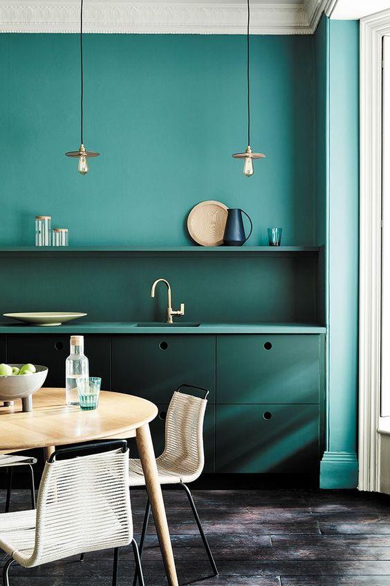 green dining room ideas 18