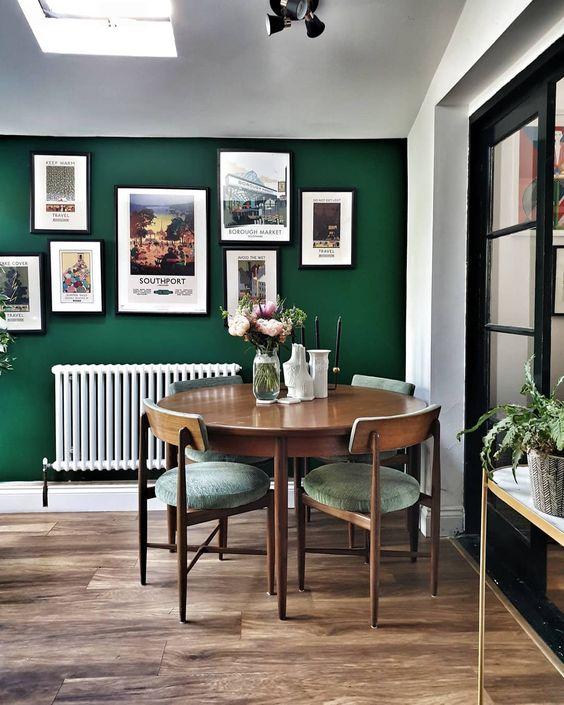 green dining room ideas 4