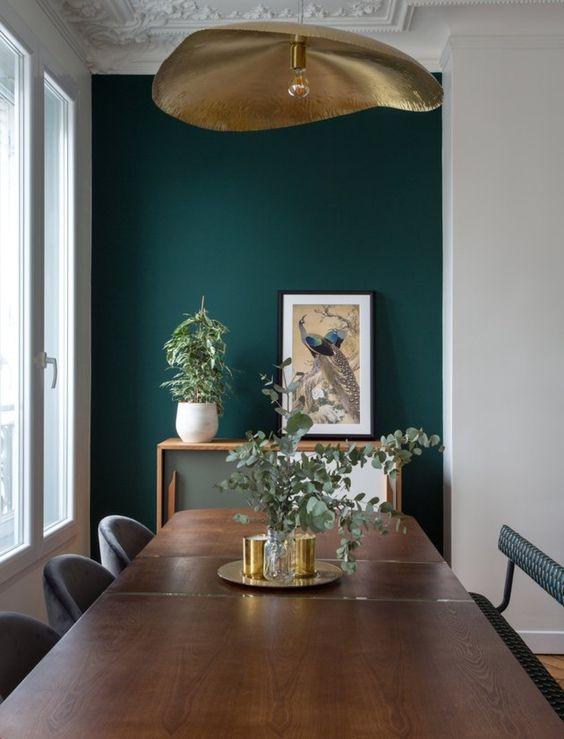 green dining room ideas 5