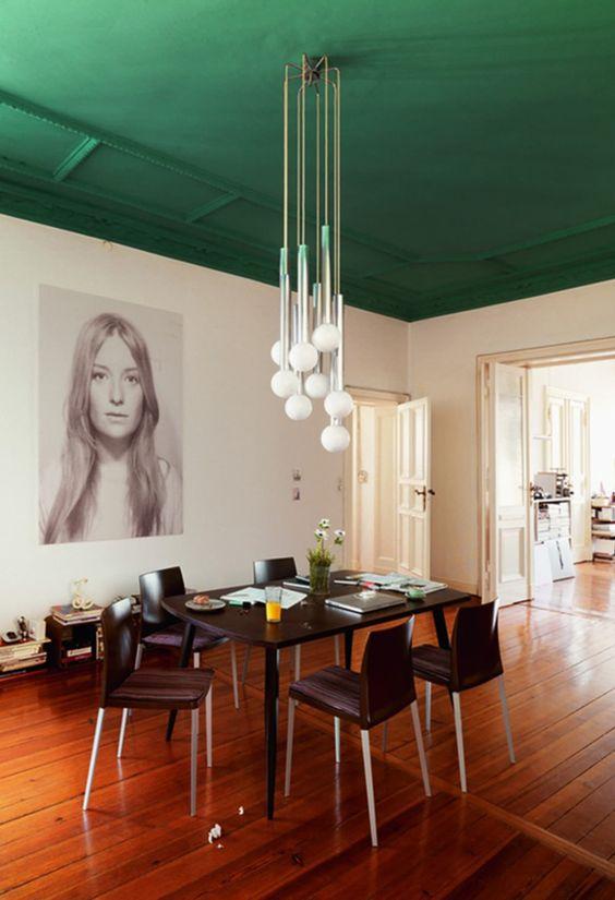 green dining room ideas 6