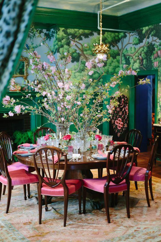 green dining room ideas 7
