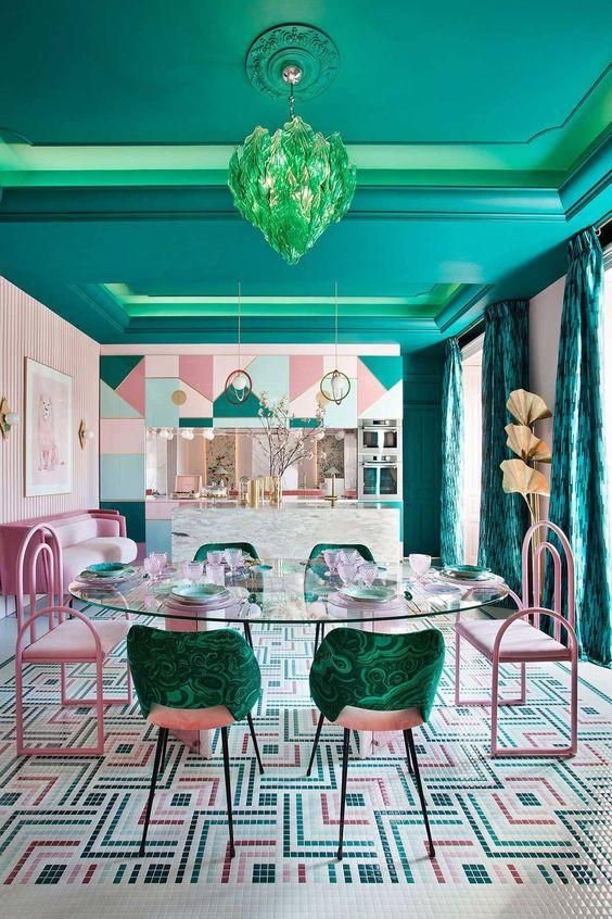 green dining room ideas 8
