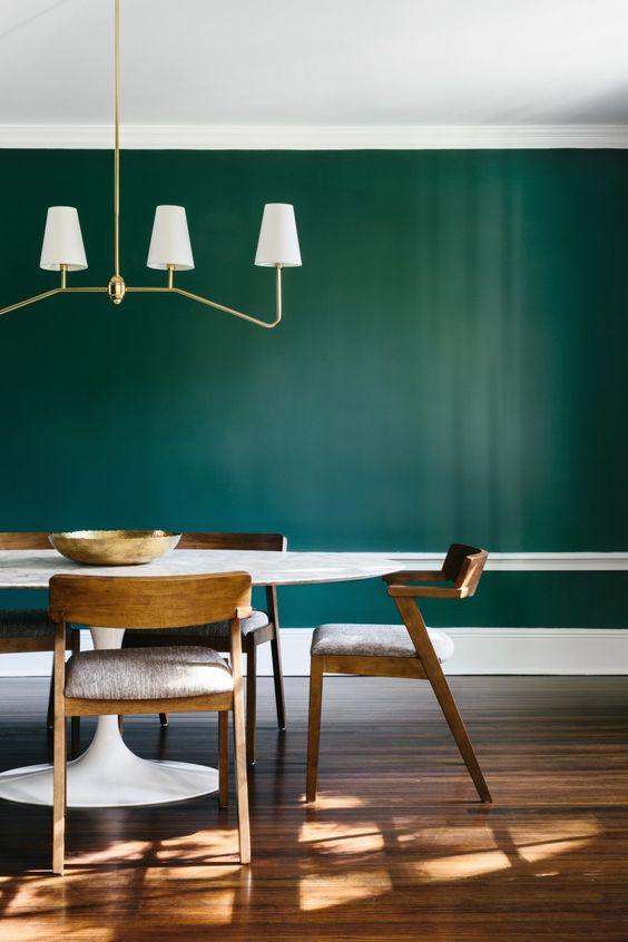 green dining room ideas 9