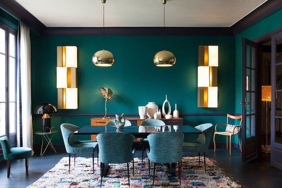 Unique Green Dining Room Ideas for Chic Look