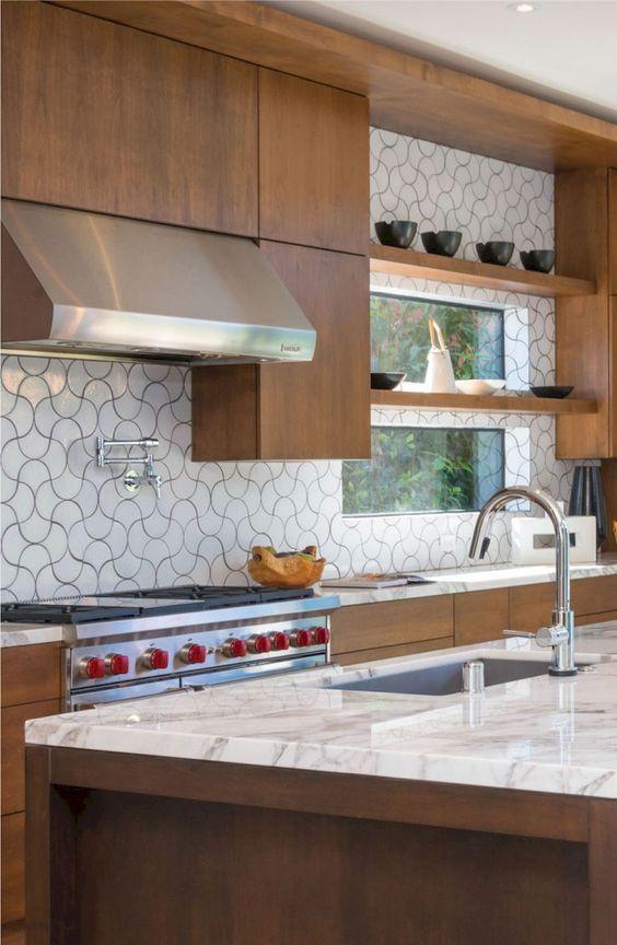 Kitchen Tiles Ideas: Unique Lantern Tiles
