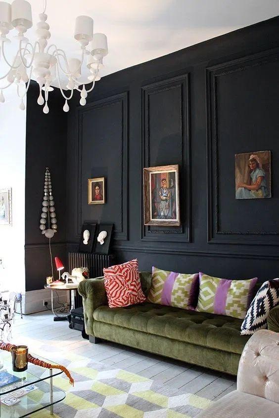 living room black ideas 10