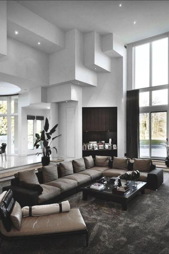 living room black ideas 16