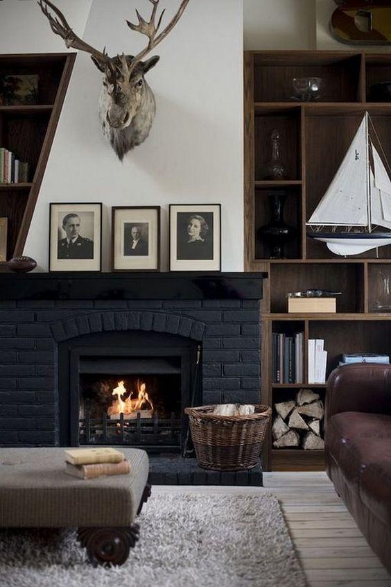 living room black ideas 5
