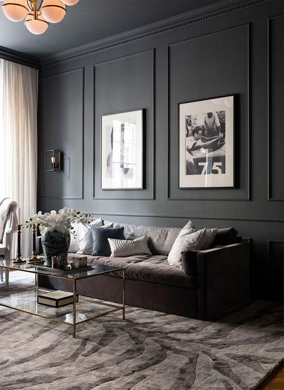 living room black ideas 9