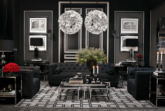 Awesome Black Living Room Ideas You Might Want to Have