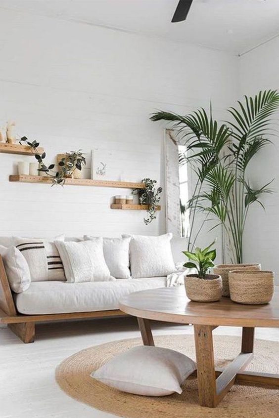 Minimalist Living Room Ideas: Minimalist Scandinavian Look