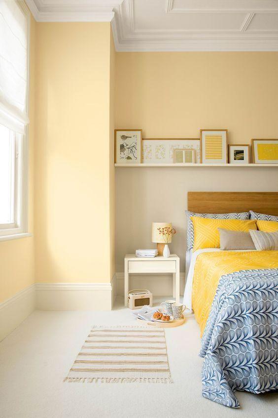 Yellow Bedroom Ideas: Lovely Light Yellow