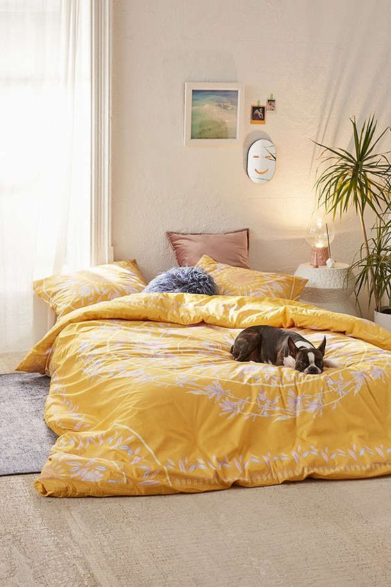 yellow bedroom ideas 10
