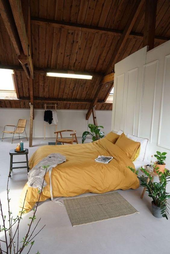 yellow bedroom ideas 11