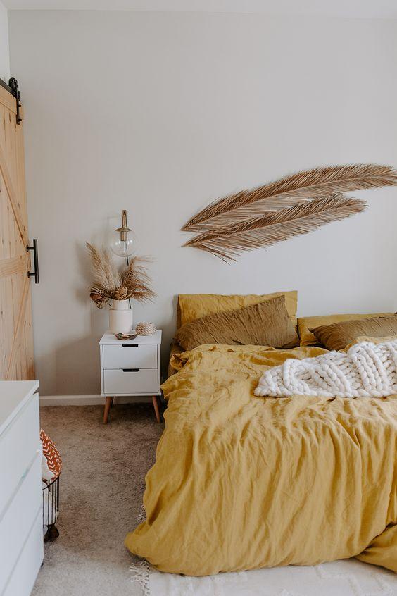 yellow bedroom ideas 15