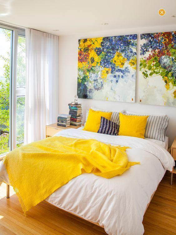 yellow bedroom ideas 7