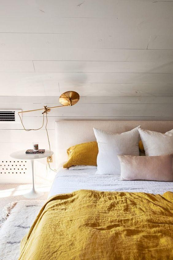 yellow bedroom ideas 8