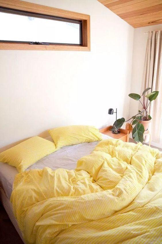 yellow bedroom ideas 9