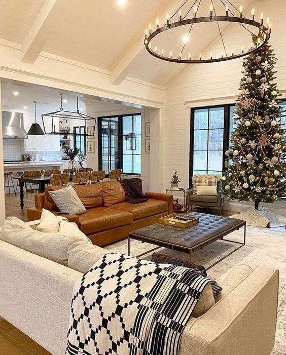 farmhouse living room ideas 10