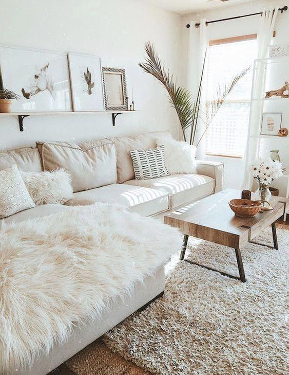 farmhouse living room ideas 13