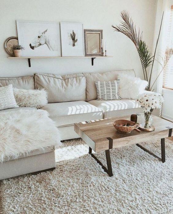 farmhouse living room ideas 14